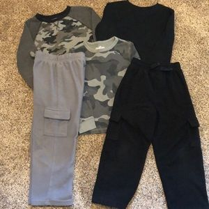 Other - Fleece pants and thermal shirts
